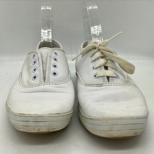 Keds Leather Womens Champion White Foam Sneakers S
